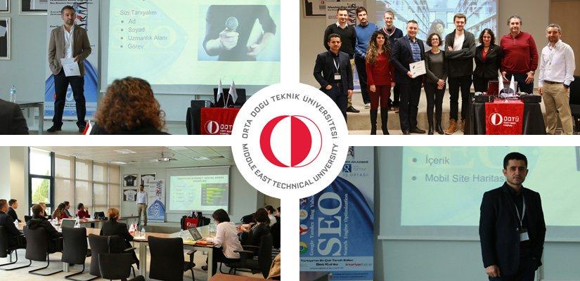 14-15-16 Aralık 2015 ODTÜ SEO ve Awords Eğitimi