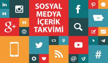 sosyal medya içerik takvimi