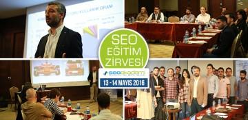 13 – 14 Mayıs 2016 SEO Eğitim Zirvesi
